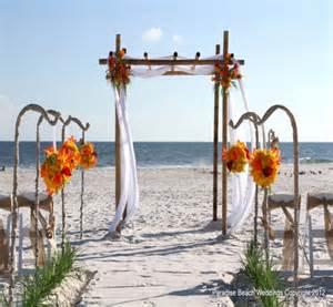 Beach Wedding Arbor Idea