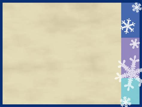image background  powerpoint themes snowflakes