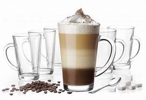 Latte Macchiato Gläser : 6 latte macchiato gl ser 300 ml mit henkel und 6 edelstahl l ffeln gratis ebay ~ Yasmunasinghe.com Haus und Dekorationen