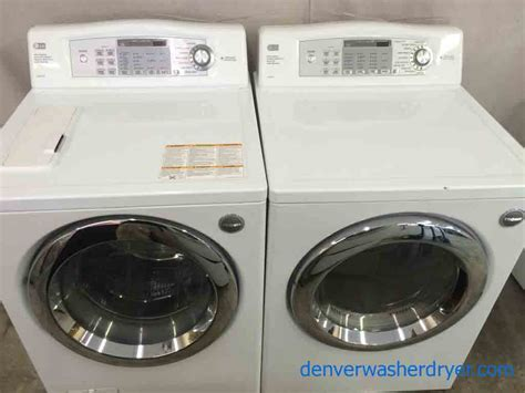 lg washer dryer large images for lg tromm front load washer dryer set