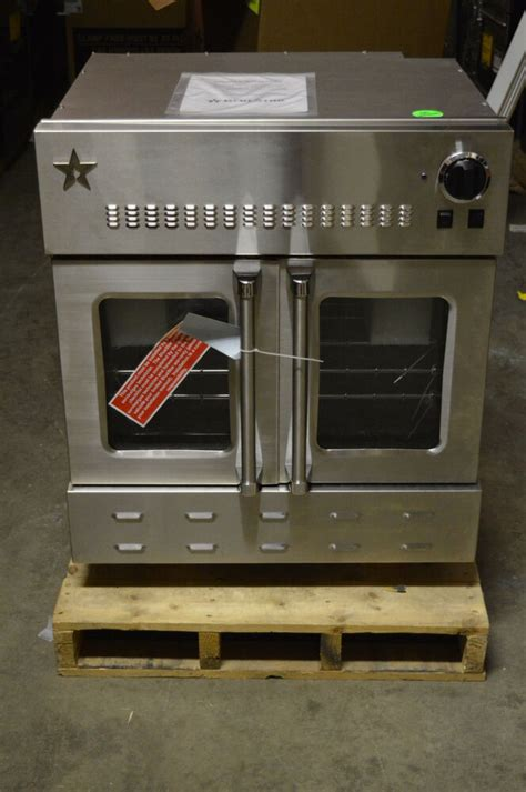 blue star bwoags  stainless single gas wall oven nob  ebay