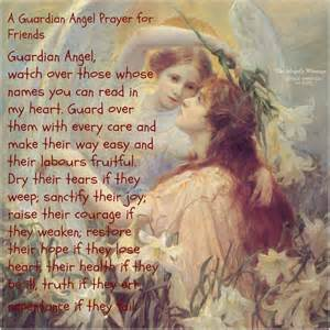 Guardian Angel Prayer for My Friend