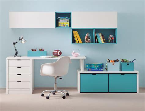 bureaux enfants bureau enfant avec meuble de rangement et niche déco