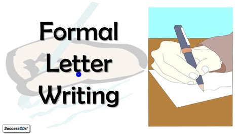 formal letter writing cbse icse class  english lesson