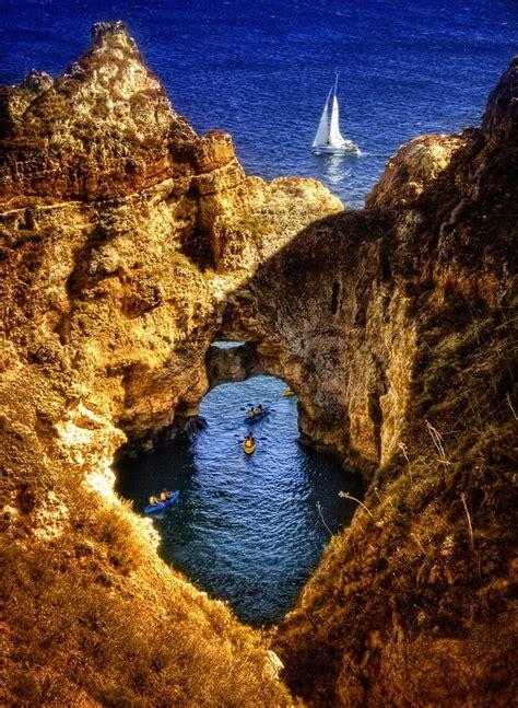 Ponte Da Pedra Lagos Algarve Portugal Art Pinterest