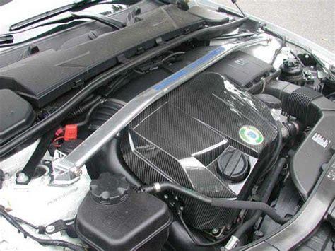 racing dynamics  carbon fiber engine cover
