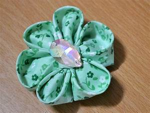 How To Make Handmade Flowers From Paper And Fabric ...