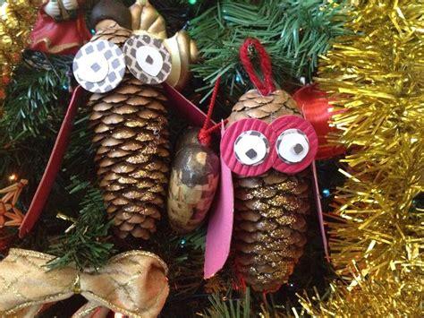Creare Con Le Pigne by Decorazioni Di Natale Come Fare Un Gufo Con Le Pigne