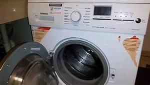 Siemens Waschmaschine Schlüssel : siemens waschmaschine f21 fehlermeldung l schung f21 youtube ~ Watch28wear.com Haus und Dekorationen