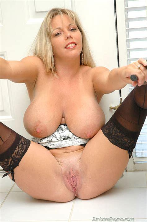 Mature Blonde Big Natural Tits