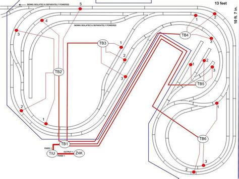 Large Layout Wiring by Tired Of Wiring O Railroading On Line Forum