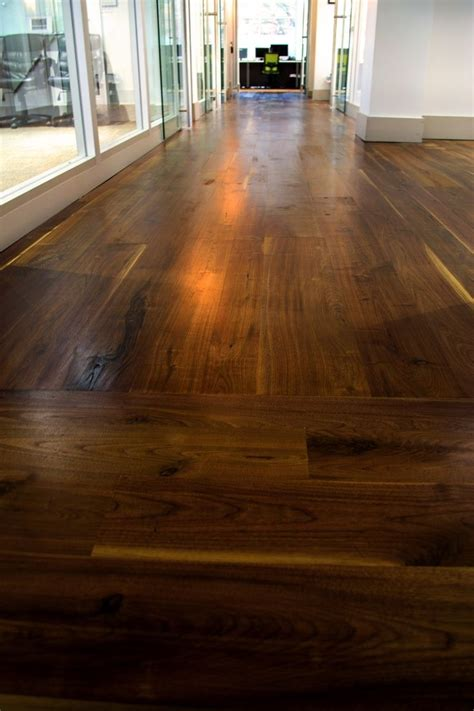 growth black walnut flooring stair treads trimark