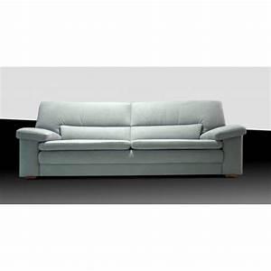 Canape cuir ou tissu 2 ou 25 places blanc veneza for Tapis champ de fleurs avec canapé 2 5 places