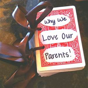 cool anniversary gift idea for parents from kids buy a With 50th wedding anniversary gifts for parents