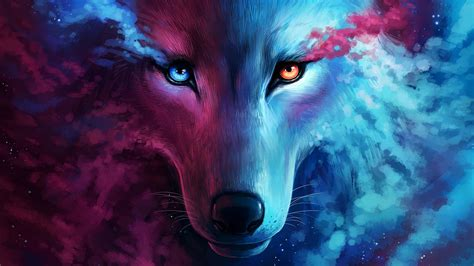 Galaxy Wolf Wallpaper Hd by The Galaxy Wolf Hd Artist 4k Wallpapers Images