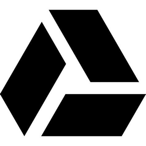 google drive logo symbol icons free download