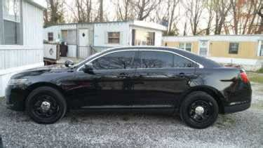 ford taurus police interceptor black  sale
