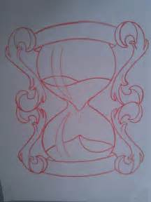 Hourglass Tattoo Sketch Drawings