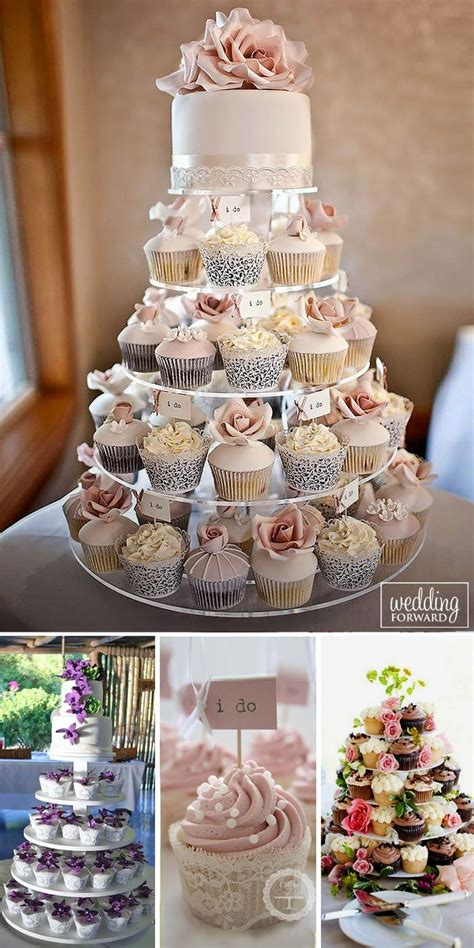 45 Totally Unique Wedding Cupcake Ideas Small Wedding