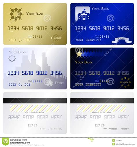 This is why your credit card details are. Credit Card Templates Royalty Free Stock Photo - Image: 15109325
