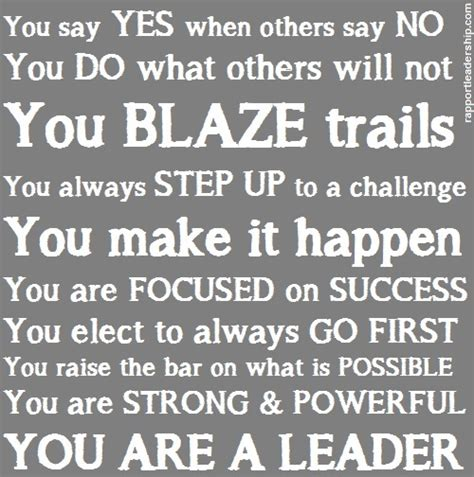 How To Say You Are A Leader On Your Resume by Leadership Quotes Inspiring The Leader In Us All Page 3