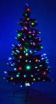 8 ft fiber optic green artificial holiday christmas tree w fiber optic lights ebay