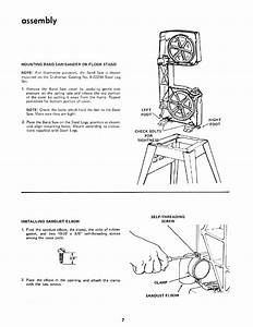 Craftsman 11324350 User Manual 12 Inch Band Saw Manuals