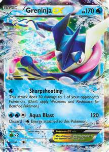 card of day greninja ex promontional