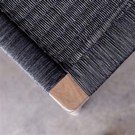 barbry loom teak dining chair black loom