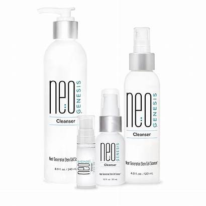 Neogenesis Cleanser Skin Radiation Dermatitis Aging Mature