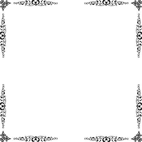 collection   transparent borders elegant