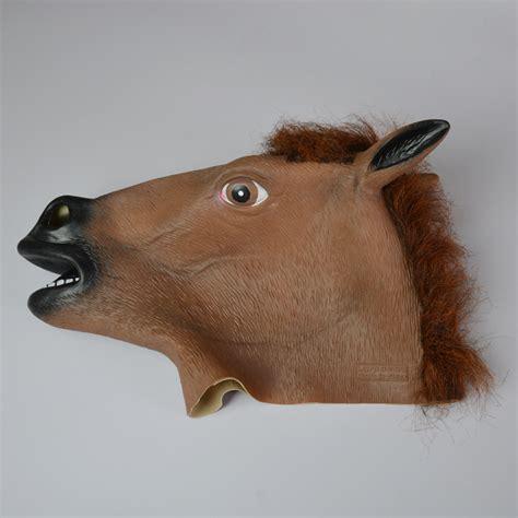 Horse Head Mask Adult