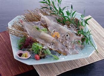 calamari served alivegenkai marine areatourism