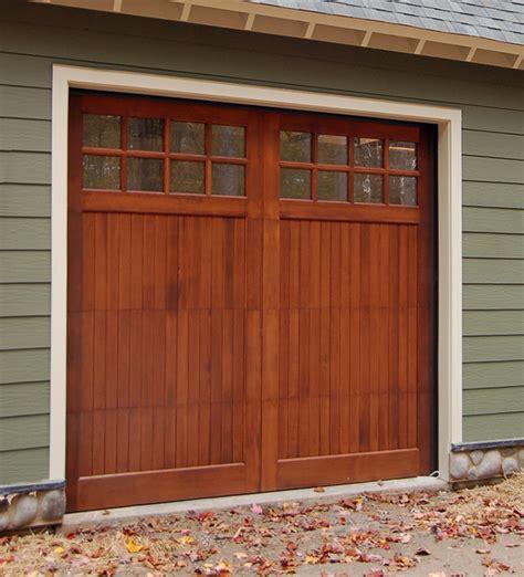 Wood Garage Door by Wood Garage Doors Wooden Overhead Door Paint Grade