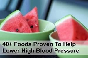 High Potassium Foods Chart 40 Foods That Help Lower Blood Pressure Watermelon