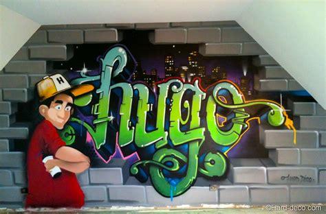 chambre graffiti déco chambre graffiti