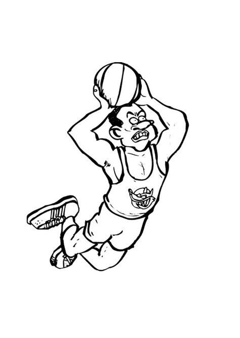 Kleurplaat Handbal by Kleurplaat Basket Afb 9678 Images