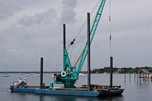 Neptune Boat Lift Key Largo by Neptune Atlantic The Barge
