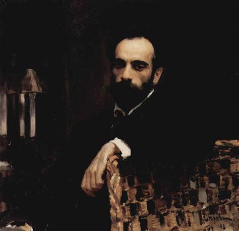 Portrait of the artist Isaak Ilyich Levitan, 1893 ...
