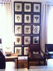 Cadre Pour Plusieurs Photos : 7 id es pour accrocher vos tableaux dans votre salon l eclat de verre cadres miroirs et ~ Teatrodelosmanantiales.com Idées de Décoration