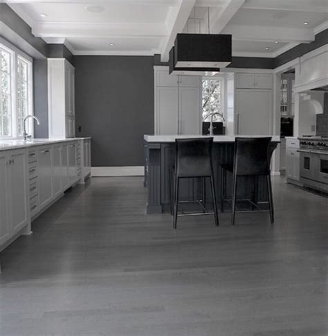 black and white flooring grey hardwood flooring is a cool interior design trend