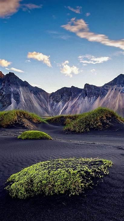 4k Nature Sky Desert Mountains Under Daytime