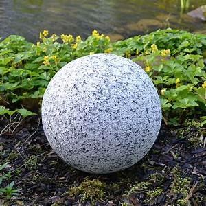 Dekokugeln Selber Machen : dekokugel in granitoptik 30cm gartenkugel granitkugel ~ Watch28wear.com Haus und Dekorationen