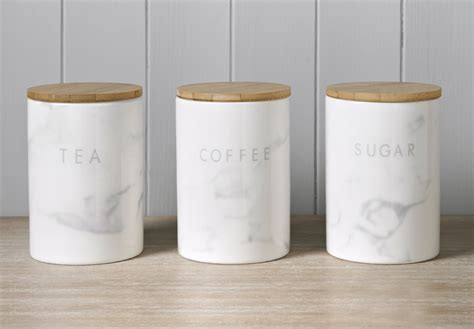 black kitchen canister set the b m marble homeware is giving homes a stylish