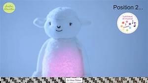 Peluche Musicale Et Lumineuse : sim on le mouton peluche lumineuse et musicale lavable en machine youtube ~ Teatrodelosmanantiales.com Idées de Décoration