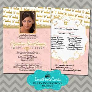 fairytale wedding invitations princess coral quinceanera invitations 15th birthday