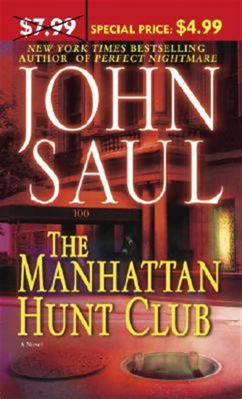 manhattan hunt club  john saul reviews discussion