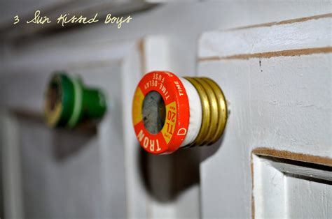 Need A Spark Old Fuses Into Knobs How Clever Cute And