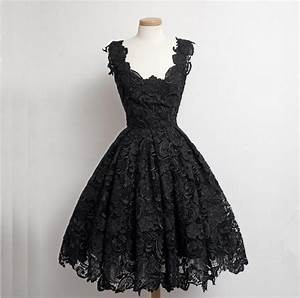 2016 Real Beautiful Black Lace Short Prom Dresses,Simple ...