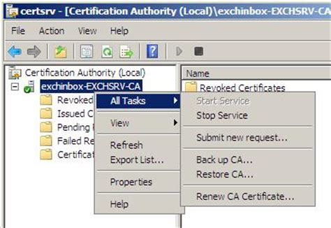 the request contains no certificate template information server tricks and tweaks